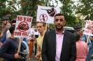 Марш против войны в Сирии